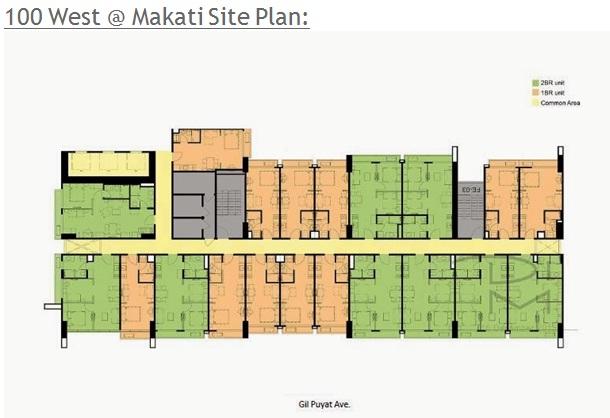 100 west floor plan