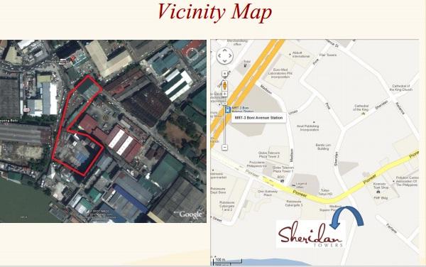 sheridan location map