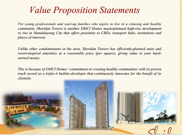 value preposition sheridan