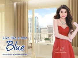 Blue Residences condo near UP Diliman