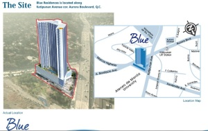 blue residences road map