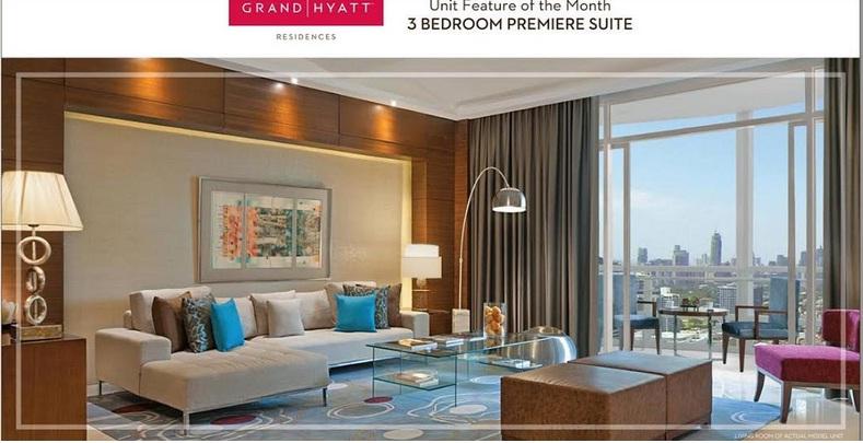 grand hyatt residences 3 bedroom