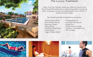 grand hyatt residences floor plan the luxury trratment