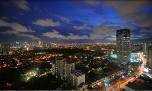 makati skyline view at wack wack