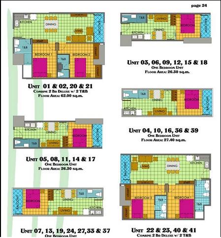 unit layout grand residences espana