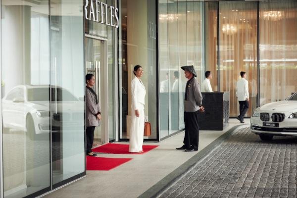 Arrival Experience at Raffles Makati